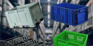 Pojemniki produkcyjne plastikowe w przemyśle