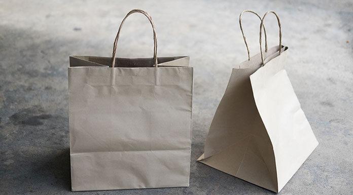Ekologiczne papierowe torby na zakupy